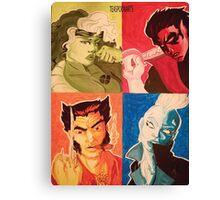 Achromatic X-men Canvas Print