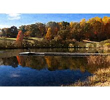 Fall Pond Photographic Print