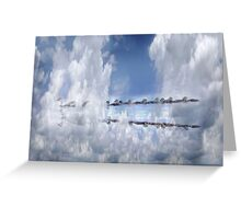 Just being together  Greeting Card