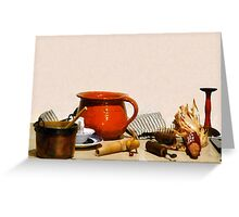 The Pantry Table Greeting Card