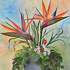 Tropical Flowers by IlonaT