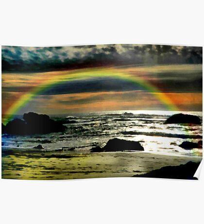 Pacific Rainbow Poster