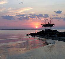 Metung Sunset by Ellanita