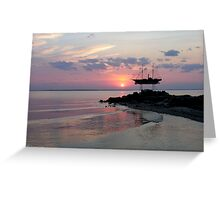 Metung Sunset Greeting Card