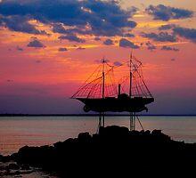 Ghost Ship by Ellanita