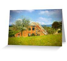 European Influence - Hahndorf, The Adelaide Hills, South Australia Greeting Card