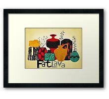 Fat Lava Framed Print