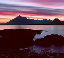 Skye's Night Sky by David Alexander Elder