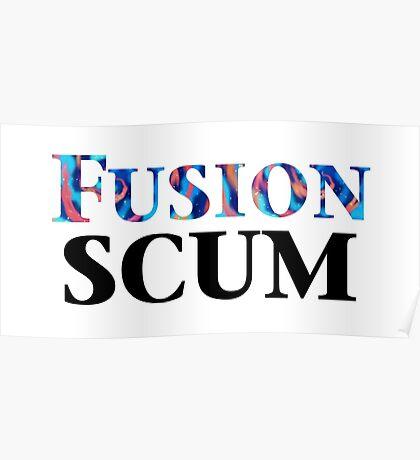 Yugioh Fusion Scum Arc V Poster