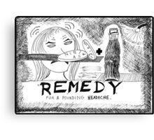 Medicinal Remedy Canvas Print