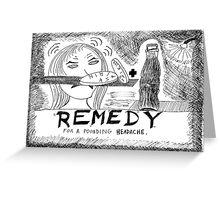 Medicinal Remedy Greeting Card