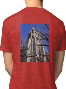 Lausanne Cathedral Gothic  Tri-blend T-Shirt