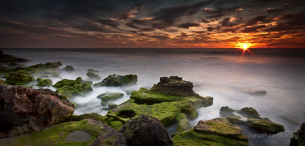 ∞ Last Light at the Cauldron ∞ by Jonathan Stacey