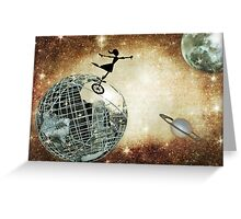 Across the universe Greeting Card
