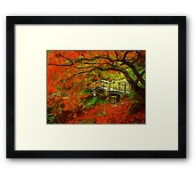 Tranquil Maple Framed Print