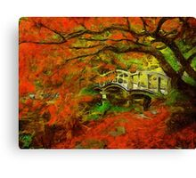 Tranquil Maple Canvas Print