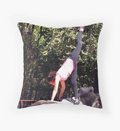 Vaulting  Throw Pillow