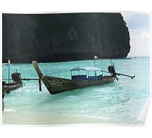 Long canoes Poster