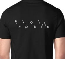 Fripouille Messed Up White Unisex T-Shirt