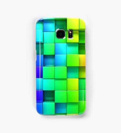 3D Blocks Samsung Galaxy Case/Skin