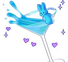 Candy Drink - Blue by greentorsos