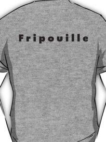 Frippouille Black Bold T-Shirt