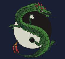 Yin Yang Dragon One Piece - Short Sleeve