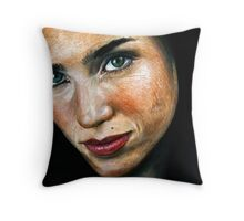 Jennifer Connelly Portrait Throw Pillow