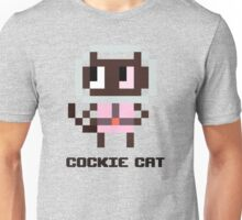 Pixel Cockie cat Unisex T-Shirt
