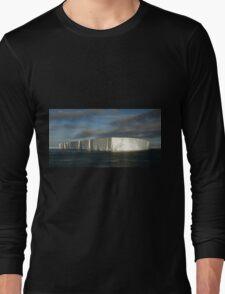 Panoramic Iceberg, Ross Sea, Antarctica Long Sleeve T-Shirt