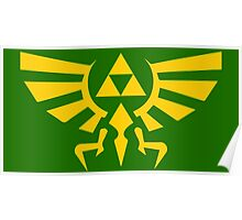 Hylian Crest Poster