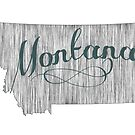 Montana State Typography by surgedesigns
