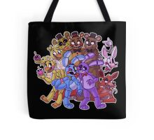 FNAF- The Gang's All Here Tote Bag