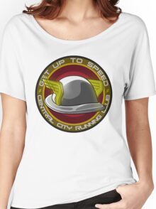 The Flash : Get Up To Speed ft. Jay Garrick Women's Relaxed Fit T-Shirt