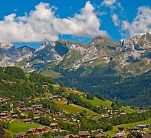 Summertime in the Alps by Konstantinos Arvanitopoulos