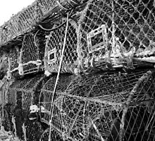 Lobster Pots by Dave Godden