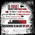 FORGIVENESS  by Jaime Cornejo
