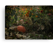 In the Shades of an Autumn Sky Canvas Print
