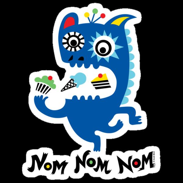 Nom Nom Nom by Andi Bird