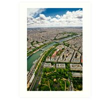 Paris 125 Art Print