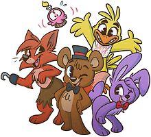 Freddy and Friends by ninied