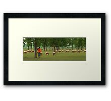 Indian Shepherd-2/2011 Framed Print