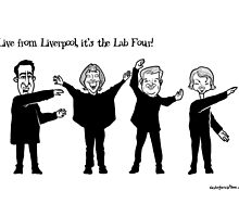 Live from Liverpool, the Lab Four! by Alex Hughes