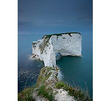 Old Harry Rocks Facing South Photographic Print