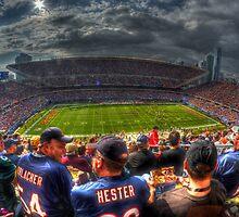 Bears vs. Packers by Matt Erickson
