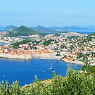 Tall Ship at Dubrovnik by Roland Pozo