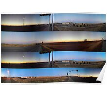 El Dorado Hills Panoramic Poster