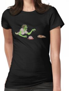 Bacon Zombie Womens Fitted T-Shirt