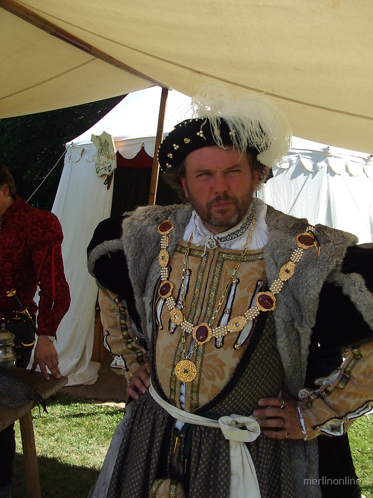 Henry VIII by merlinonline