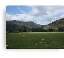 Longsleddale, Cumbria Canvas Print